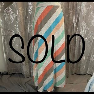 SOLD-Faded Glory Maxi Skirt